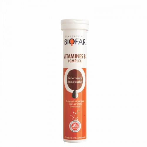 Biofar B Vitamin Complex  20 šumećih tableta
