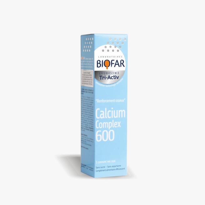 Biofar Calcium Complex 600 - 15 šumećih tableta