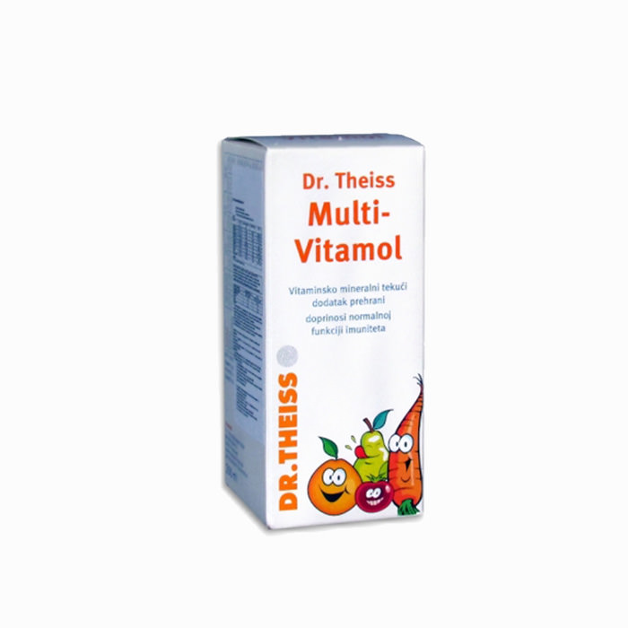 Dr. Theiss - Multi-Vitamol sirup 1+