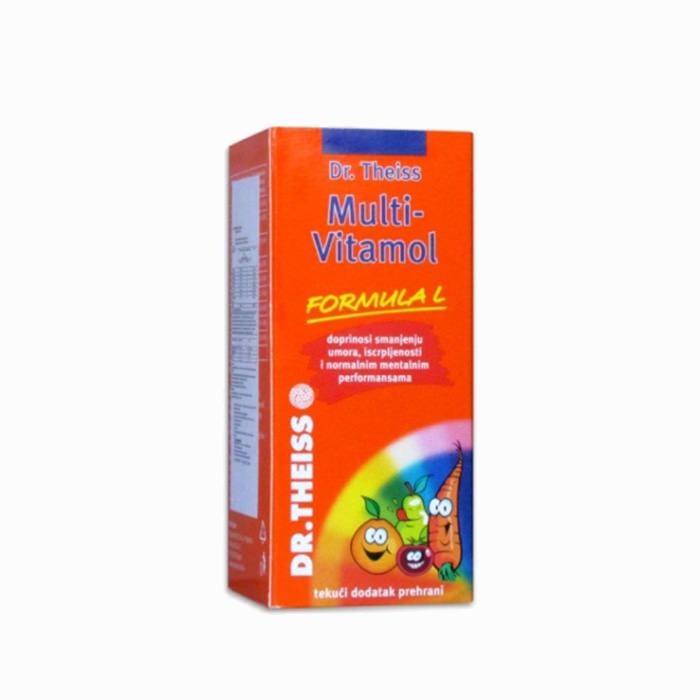 Dr Theiss - Multi-vitamol sirup 6+