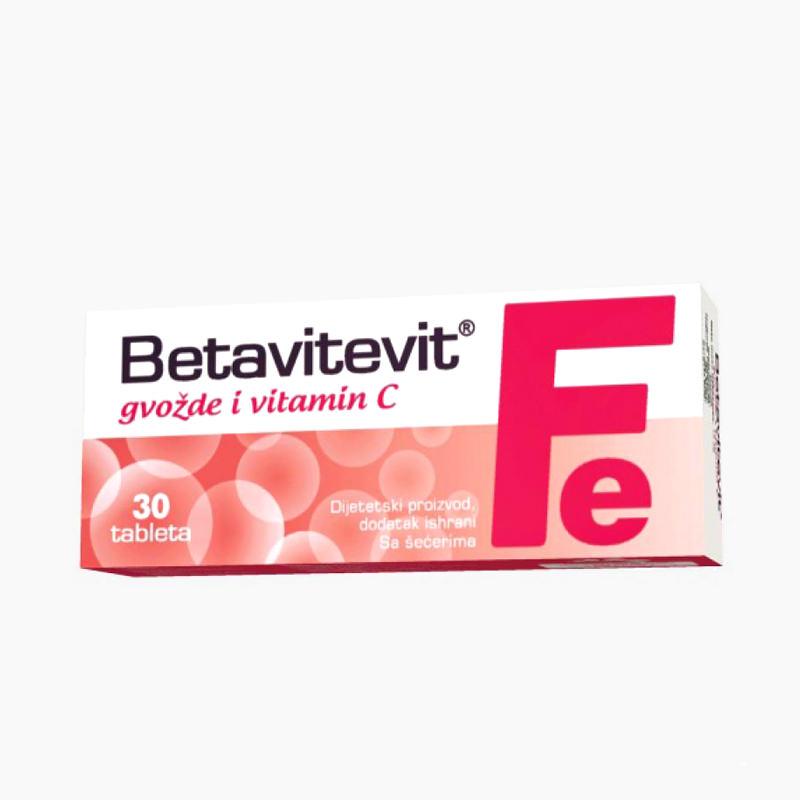 Esensa Betavitevit gvožđe i vitamin C - 30 tableta