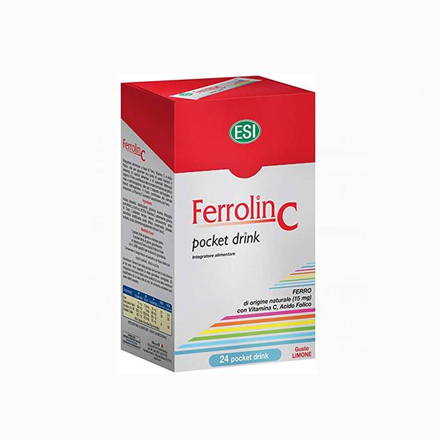 ESI Ferrolin C Pocket Drink - 24 kesice