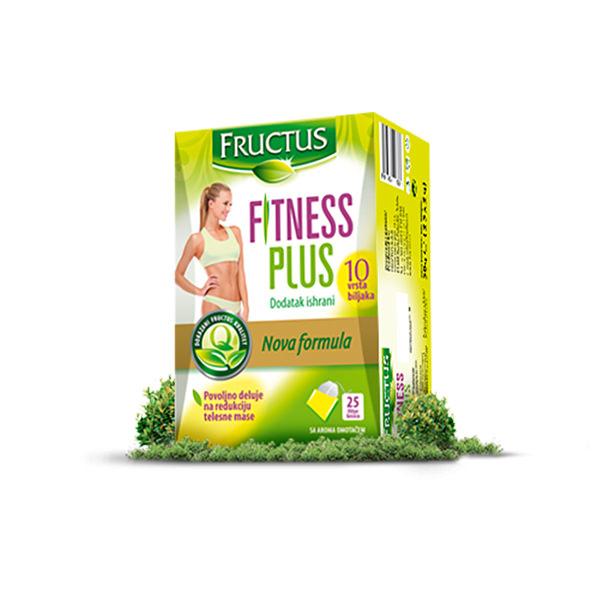 Fructus Fitness Plus čaj