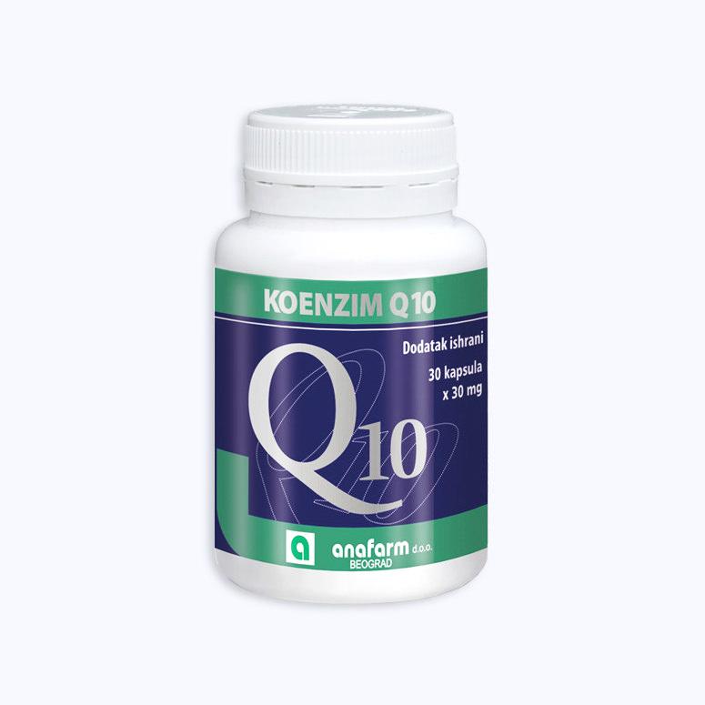 Koenzim Q10 Anafarm