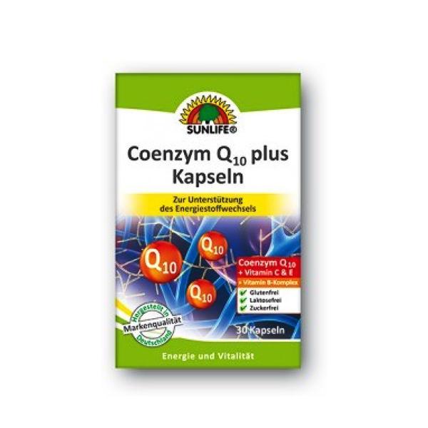 Coenzym Q10 plus 60mg 30 kapsula