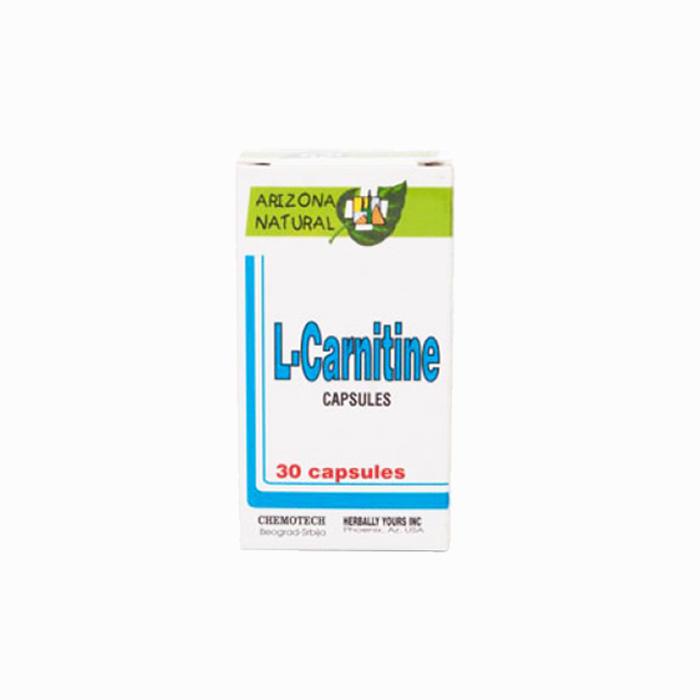 Arizona Natural L-Carnitine 30 kapsula