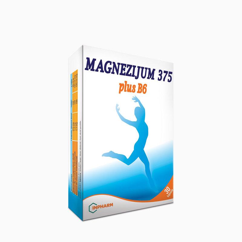 Magnezijum 375 plus B6 - 30 kapsula