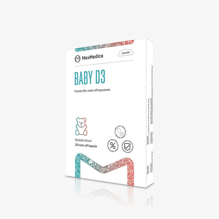 MaxMedica Baby D3 kapsule