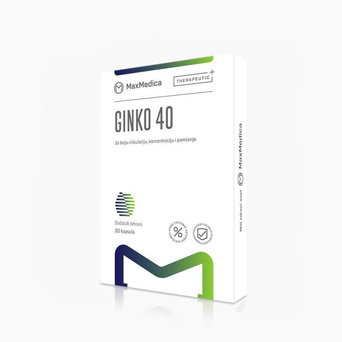 MaxMedica Ginko 40 kapsula