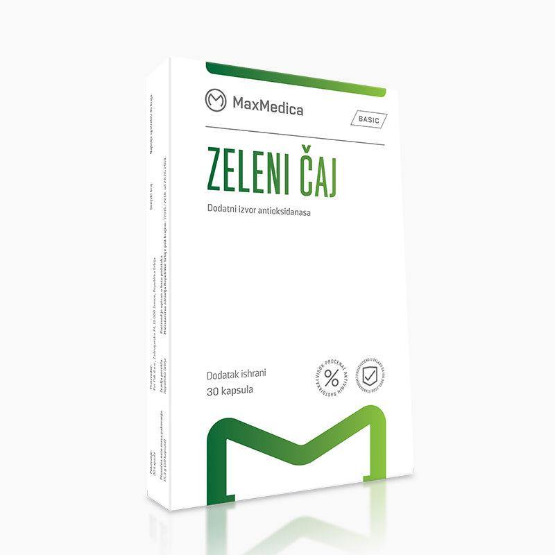 MaxMedica Zeleni Čaj 30 kapsula