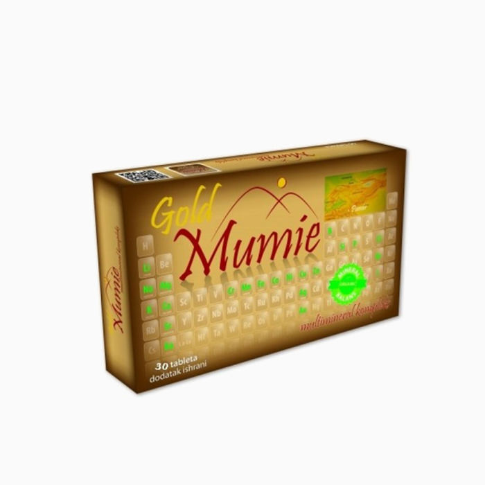 Mumie Gold 30 tableta