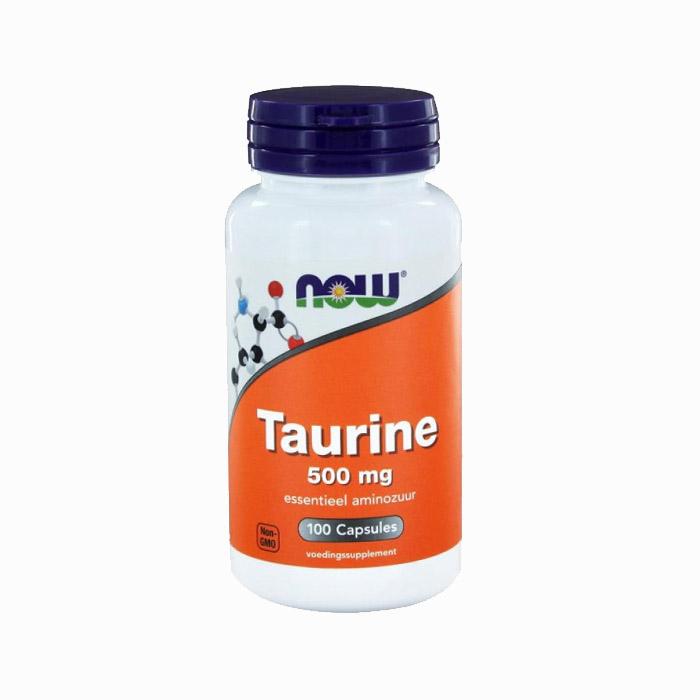 Now - Taurine 500mg