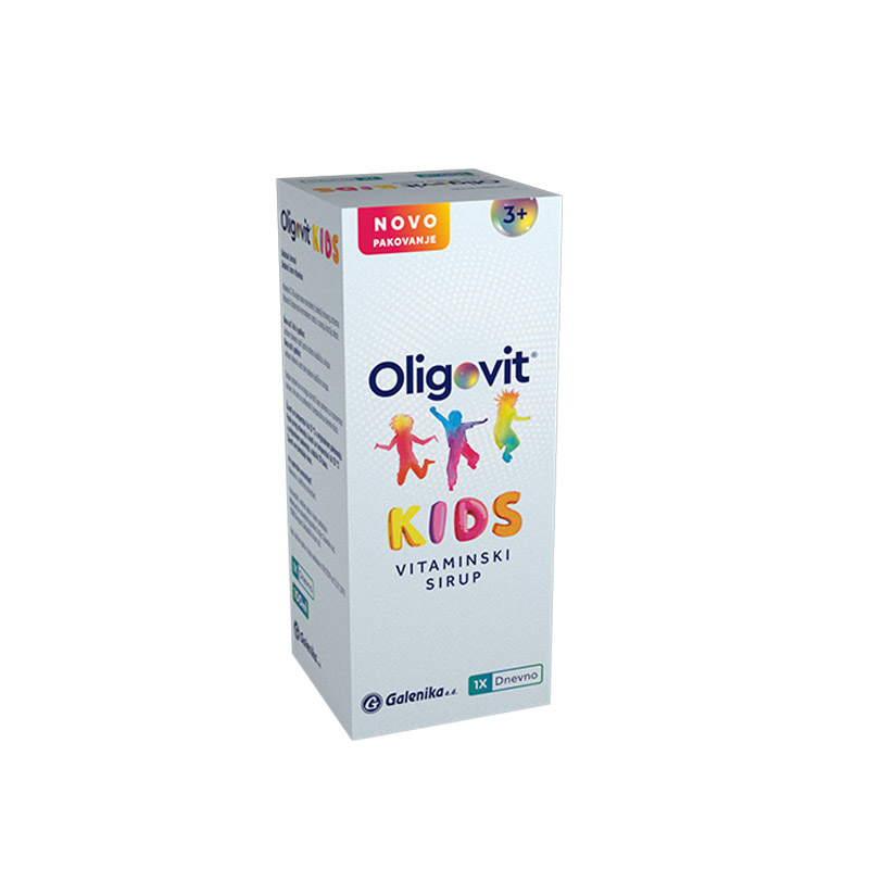 Oligovit Kids vitaminski sirup 100ml