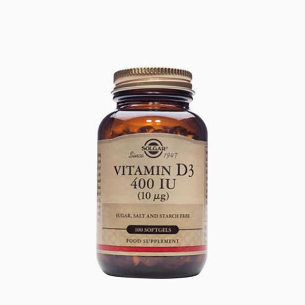 Solgar - Vitamin D3 400IU 100 kapsula