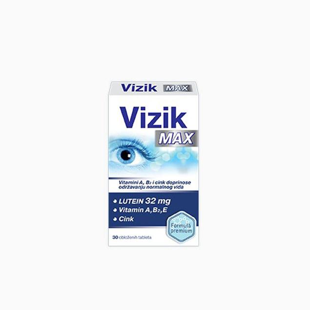 Vizik Max - vitamini za oči - 30 tableta